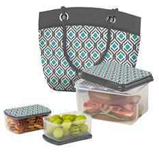 Fit & Fresh Falmouth Insulated Designer Lunch Kit