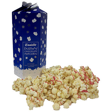 Snowy Chocolate Popcorn - 8 oz Box