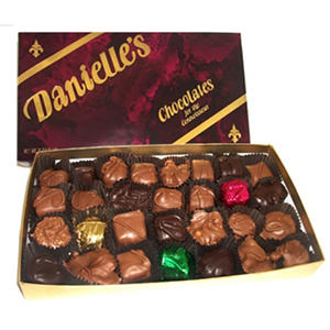 Danielle's Gourmet Assorted Chocolates - 1 lb. Box