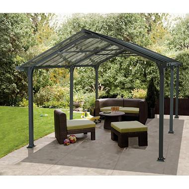 Empire 500 Garden Shelter/Carport - Sam's Club