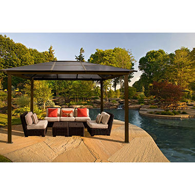 STC Aspen Gazebo - 10' x 13', Original Price $1,549.00, SAVE $150.00