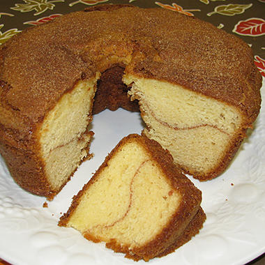 Miss Ellie's Gourmet Coffee Cake - No Nut Cinnamon - 8""