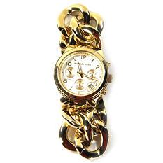 Michael Kors Women's Runway Twist Gold-Tone Chronograph Watch