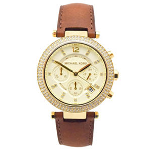 Women's Parker Gold-Tone Watch by Michael Kors