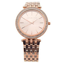 Women's Darci Rose Gold-Tone Stainless Steel Watch by Michael Kors