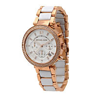 Women's Parker Two-Tone Watch by Michael Kors