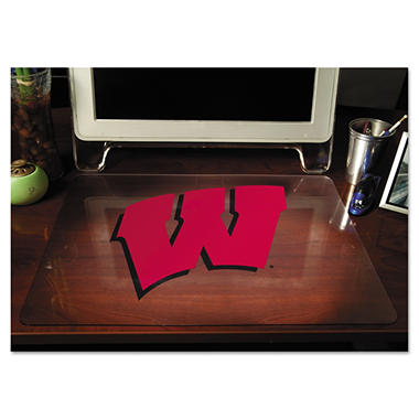 "ES Robbins - Collegiate Desk Pad University of Wisconsin Badgers - 19"" x 24"""