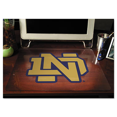 "ES Robbins - Collegiate Desk Pad University of Notre Dame Fighting Irish - 19"" x 24"""