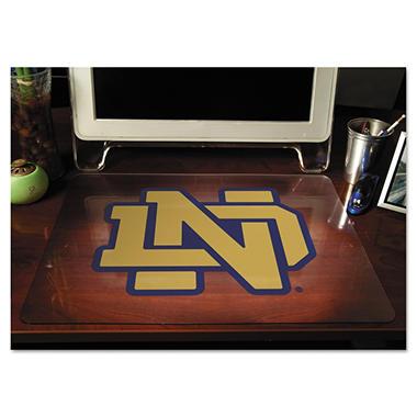 "ES Robbins - Collegiate Desk Pad University of Notre Dame Fighting Irish - 19"" x 24"""