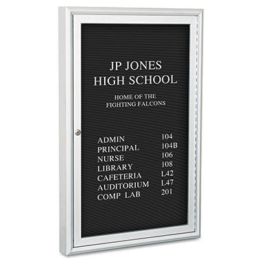 "Best-Rite - Enclosed Directory Board - 24"" x 36"""