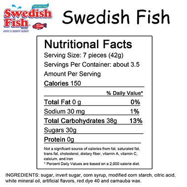 Swedish Fish - 5 oz. Bag - 12 ct.