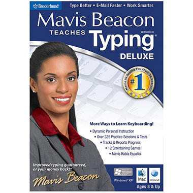 Mavis Beacon Teaches Typing 20 Deluxe