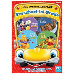 Disney Fun & Skills Pack: Preschool-1st Grade