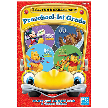 Disney Fun & Skills Pack: Preschool-1st Grade