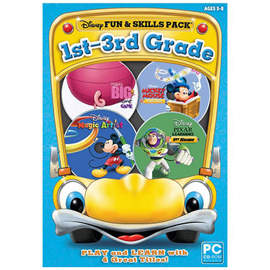Disney Fun & Skills: 1st-3rd Grade