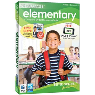 Advantage 2012 Elementary with Mavis Beacon Deluxe - PC/Mac