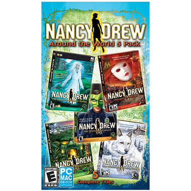 Encore - Nancy Drew Around the World - 5 Pack - PC