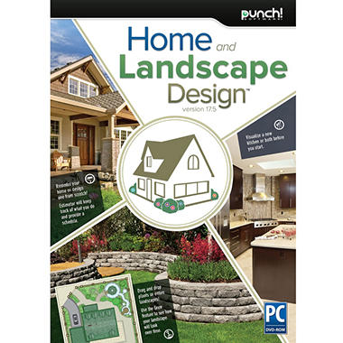 Punch home landscape design 17 5 sam 39 s club for Punch home design