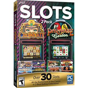 IGT Cleopatra and Paradise Garden 2-Pack