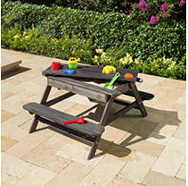 2-1 Picnic Table with Sand Toys