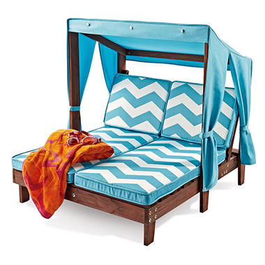 Kid 39 S Double Chaise With Canopy Sam 39 S Club