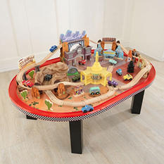 Radiator Springs Race Track Set & Table