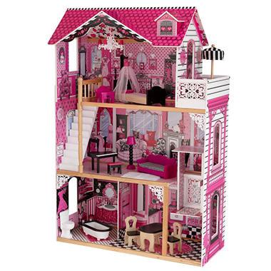 Amelia dollhouse sam 39 s club - Fabriquer maison barbie ...