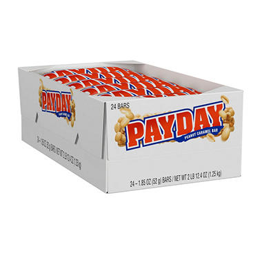 Payday Bar - 1.85 oz. Bar - 24 ct.