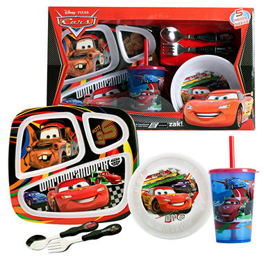 Cars Disney Dinnerware Set - 5 pc.