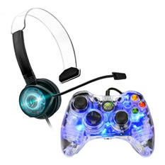 Afterglow Controller and Headset for Xbox 360