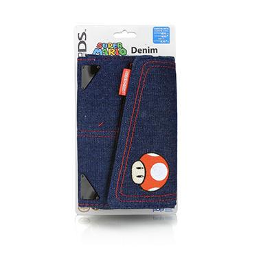 Denim Super Mario Universal System Case for DS, DSi, DSi XL or 3DS