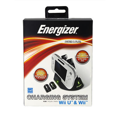 Energizer 3x Charge Station for the Wii U