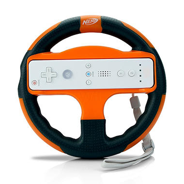 Nerf Racing Wheel for the Wii  - Various Colors