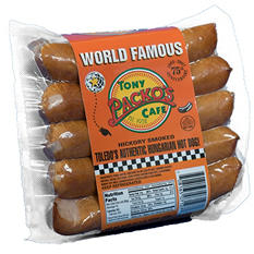 Tony Packo's Cafe Hungarian Hot Dogs - 1 lb. - 3 pk.