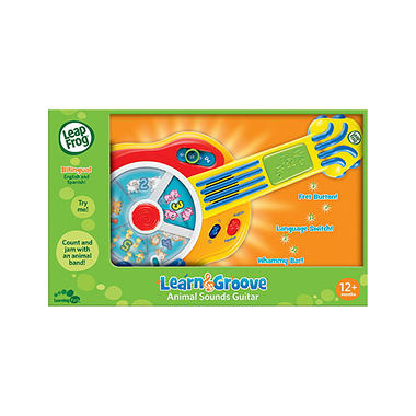 LeapFrog® Learn & Groove Animal Sounds Guitar