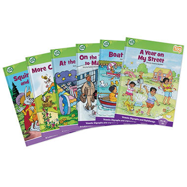LeapFrog® Tag™ Learn to Read Phonics Book Set 4: Advanced Vowels