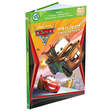 LeapFrog� Tag? Activity Storybook: Disney Pixar Cars 2: Project Undercover