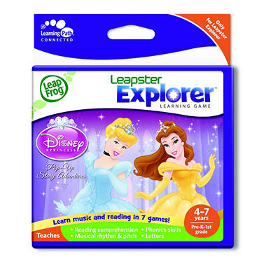 LeapFrog® Leapster Explorer™ Learning Game: Disney Princesses: Pop-Up Story Adventures