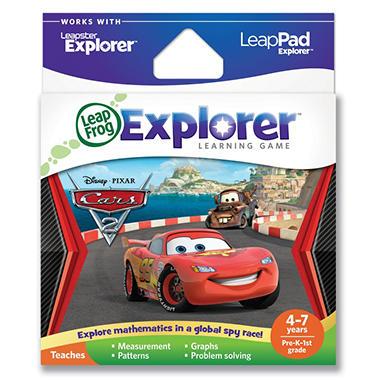 LeapFrog Explorer™ Learning Game: Disney Pixar Cars 2
