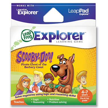 LeapFrog Explorer™ Learning Game: Scooby-Doo! Pirate Ghost of the Barbary Coast