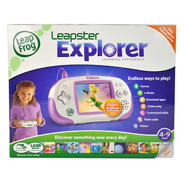 LeapFrog®  Leapster Explorer™ Learning Experience