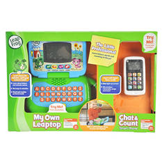 LeapFrog Leaptop and Chat & Count Smartphone Business Baby Bundle