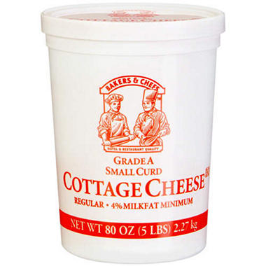 Bakers & Chefs Cottage Cheese - 5 lbs.