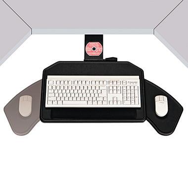 Boomerang Board Corner Mouse & Keyboard Platform
