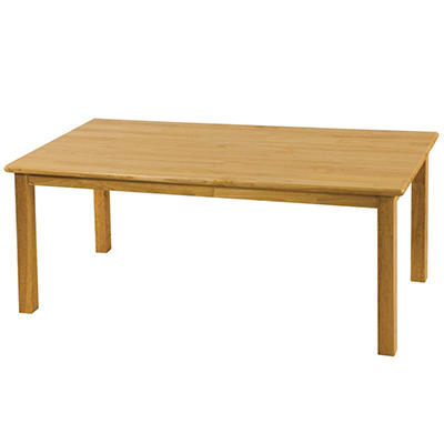 "ECR4Kids 24"" x 48"" Rectangular Hardwood Table, Select Type"