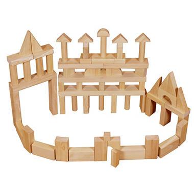 Hardwood Unit Blocks - 75 pc.