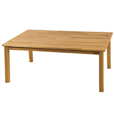 "Rectangular Hardwood Table - 30"" x 48"""