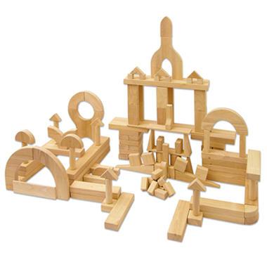 Hardwood Unit Blocks - 118 pc.