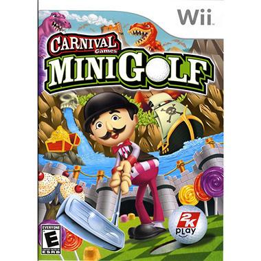 Carnival Games: Mini Golf - Wii