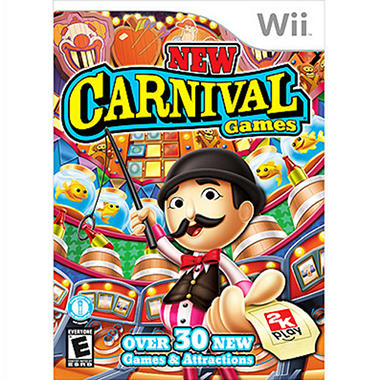 New Carnival Games - Wii